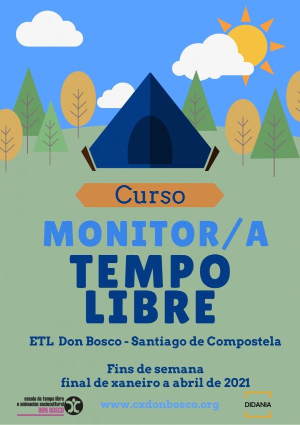 Monitor/a de actividades de tempo libre da ETL Don Bosco en Santiago de Compostela