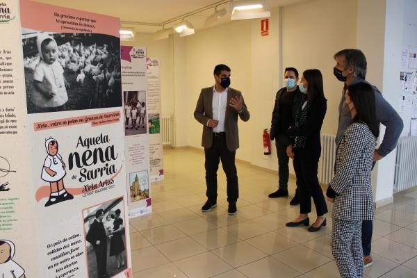 O Espazo Xove de Ourense acolle a mostra 'Aquela meniña de Sarria'