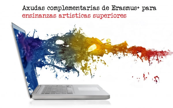 Axudas complementarias de Erasmus+ para ensinanzas artísticas superiores