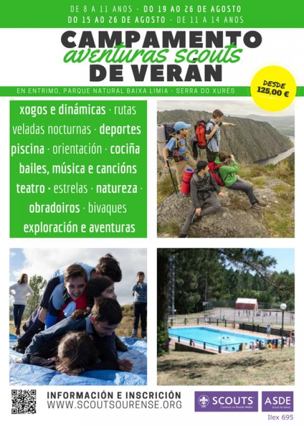Campamento de verán: Aventuras Scouts