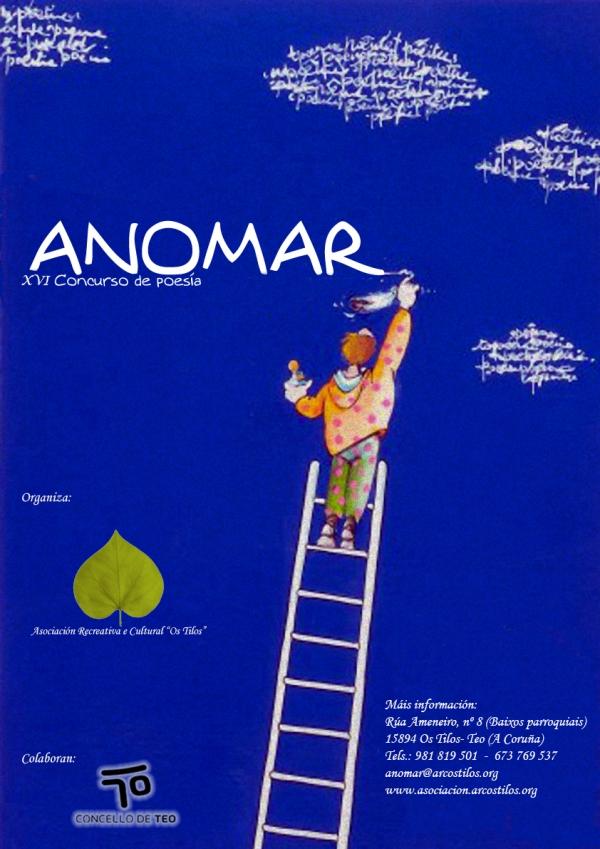 16ª edición do Concurso de Poesía ANOMAR