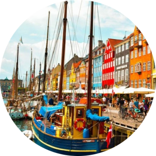 Bolsas para realizar no verán cursos de danés en Dinamarca