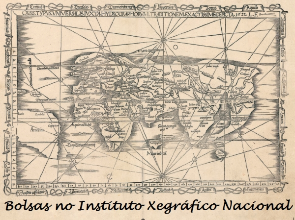 Bolsas para a formación no Instituto Xeográfico Nacional