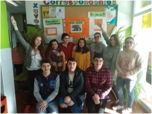 Correspondentes Xuvenís do IES de Porto do Son