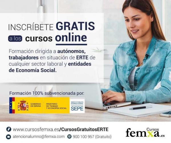 Cursos para autónomos e traballadores afectados por ERTE