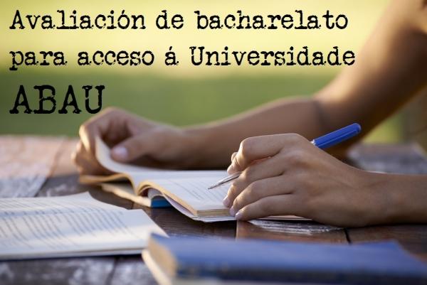 ABAU: Proba de avaliación do bacharelato para o acceso á Universidade