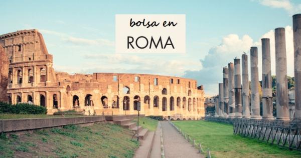 Bolsa de turismo en Roma