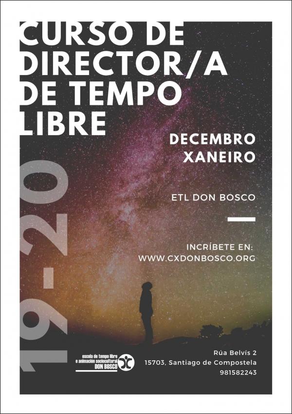Curso de Director/a de actividades de tempo libre de Don Bosco en Santiago de Compostela