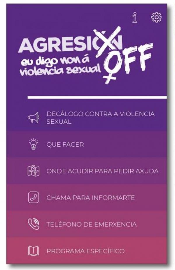 Aplicación móbil para loitar contra as agresións sexuais
