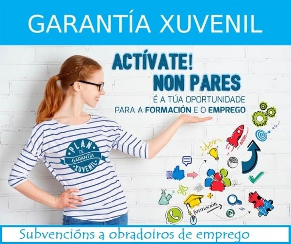 Subvencións a programas de emprego e formación para a mocidade