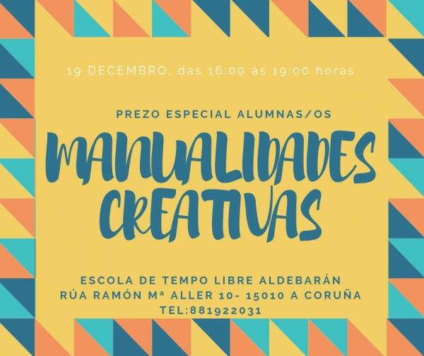 Manualidades creativas na Coruña