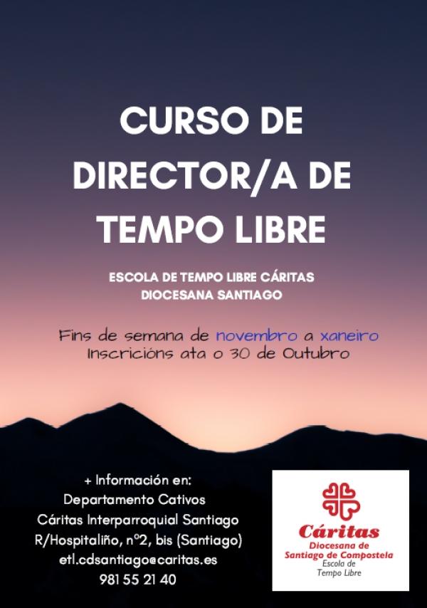 Curso de Director/a de actividades de tempo libre en Santiago de Compostela da escola Cáritas