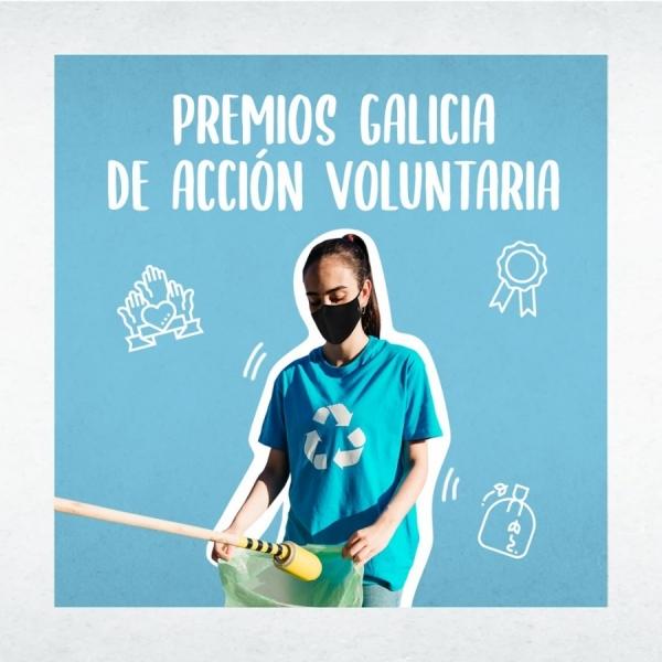 Resolución dos Premios Galicia de Acción Voluntaria