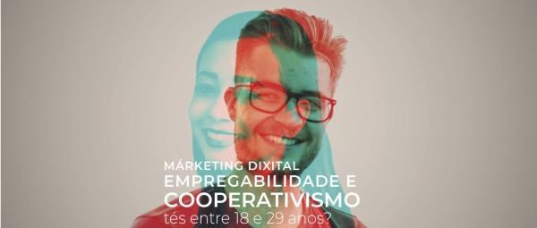 Márketin dixital, empregabilidade e cooperativismo
