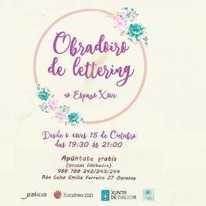 Obradoiro de lettering en Ourense