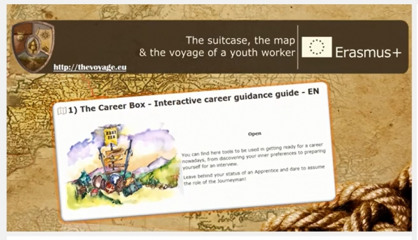 THE SUITCASE, THE MAP AND THE VOYAGE OF A YOUTH WORKER