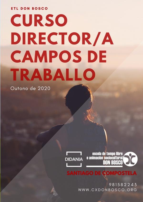 Curso de Director/a de Campos de traballo en Santiago de Compostela da ETL Don Bosco