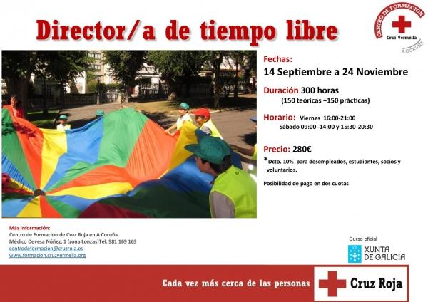 Curso de Directores/as de actividades de tempo libre na Coruña