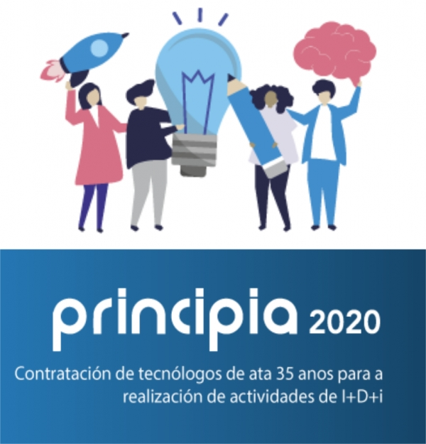 Programa Principia: contratación de mocidade investigadora