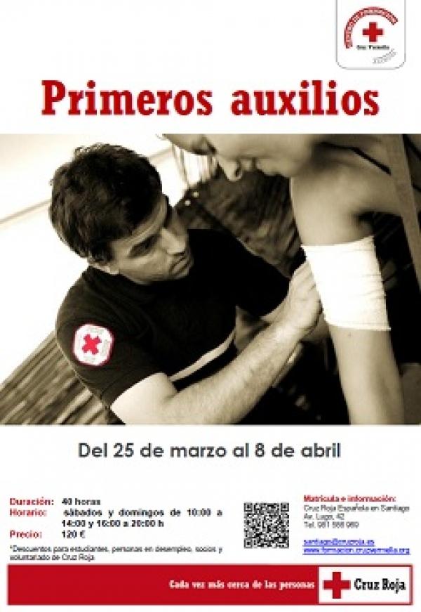 Curso de Primeiros Auxilios en Santiago