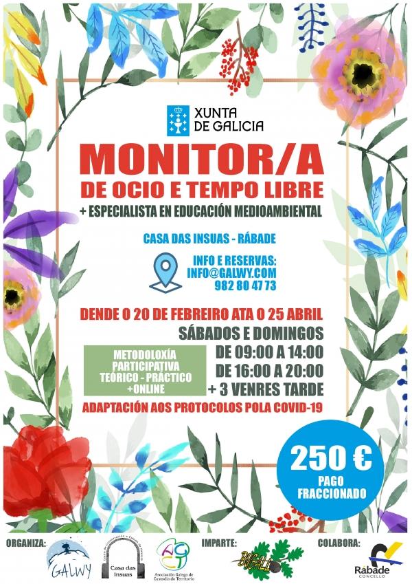 Curso en Rábade de Monitoras/es de Actividades de Tempo Libre da ETL Bugallo