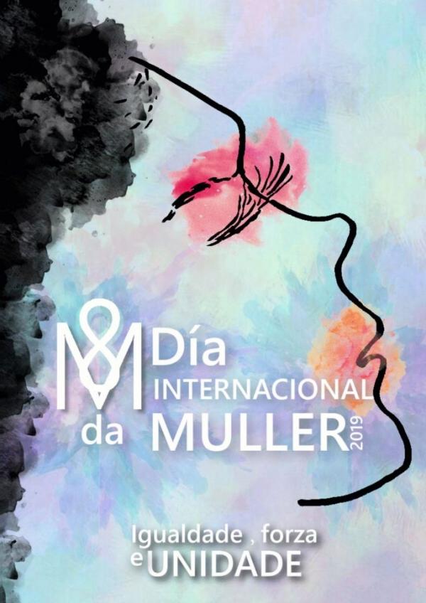 """IV Concurso para o deseño do cartel do día 8 de marzo 2021 """"Día internacional da muller"""""""