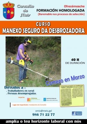 CURSO MANEXO SEGURO DA DESBROZADORA