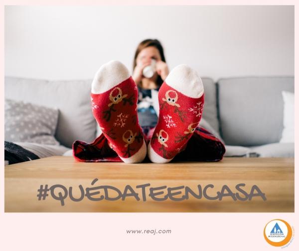 #QuédateEnCasa!
