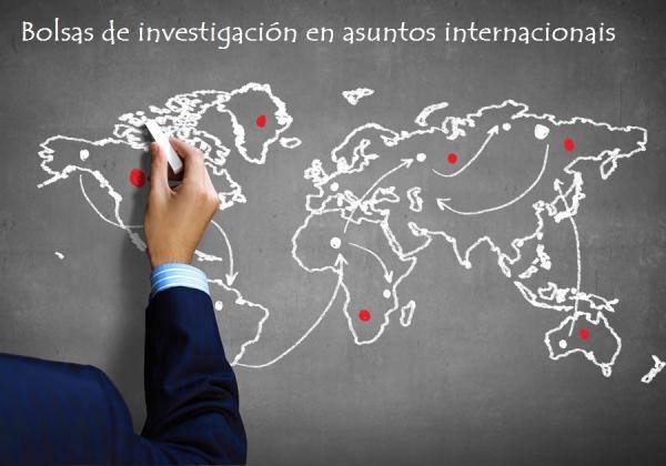Bolsas de investigación na área de Asuntos Internacionais
