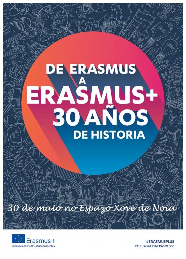 30 anos compartindo experiencias de participación e inclusión en Erasmus+