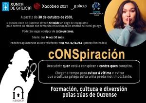 cONSpiración no Espazo Xove de Ourense