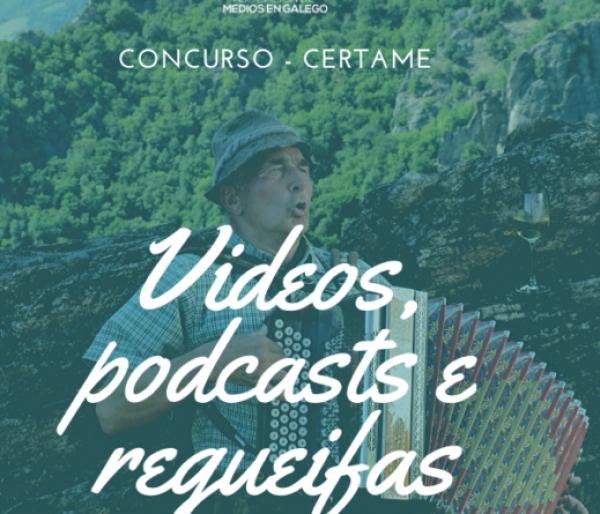 Concurso de videos, podcast e regueifas para a mocidade