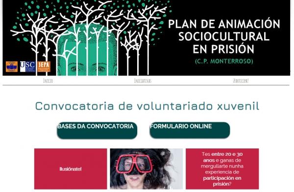 Voluntariado xuvenil no Centro Penitenciario de Monterroso