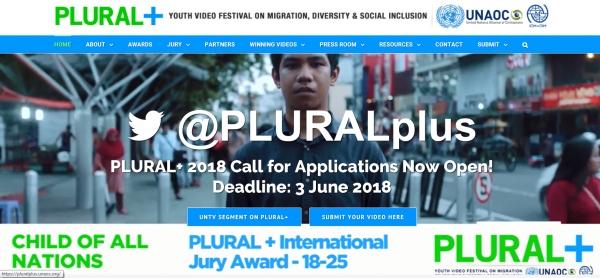 Festival de vídeo xuvenil PLURAL+ 2018