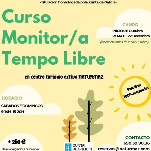 Curso de Monitor/a de actividades de tempo libre en Mazaricos da escola Naturmaz