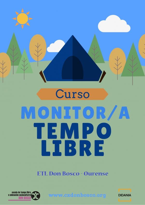 Curso en Ourense de monitor/a de actividades de tempo libre da ETL Don Bosco