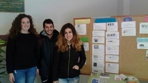 Correspondentes Xuvenís no IES Primeiro de Marzo de Baiona