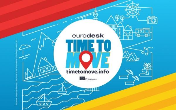 Deseño da camiseta da campaña Time to move