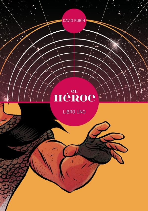 O cómic El Héroe 1 de David Rubín en aberto