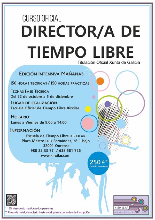 Curso de Director/a de actividades de tempo libre en Ourense