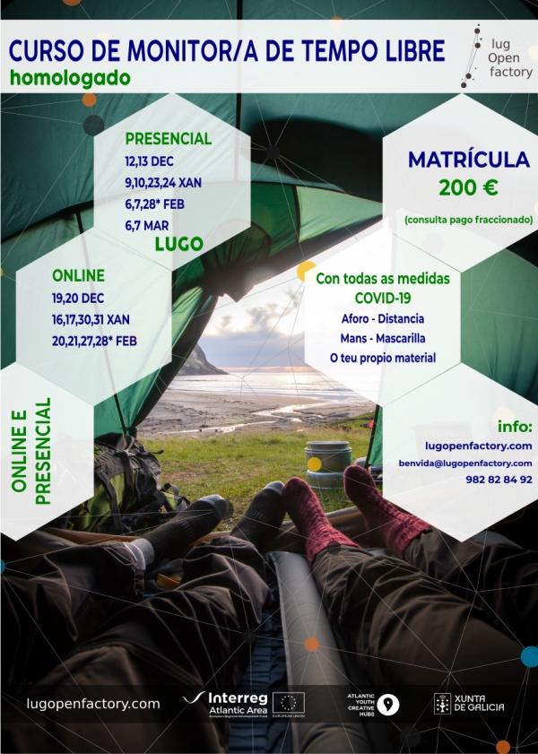 Curso de Monitores/as de actividades de tempo libre en Lugo da Escola Rural de Tempo Libre