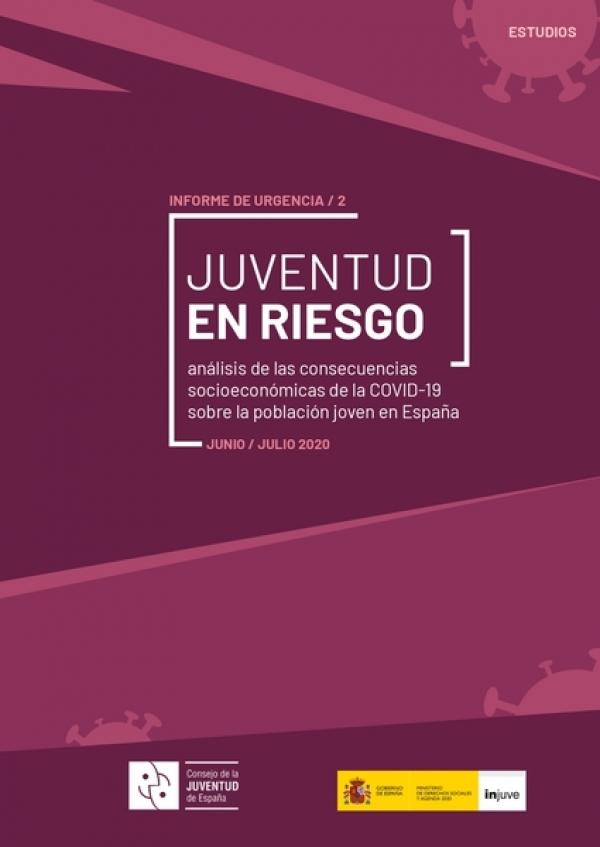 Mocidade en risco. Análise das consecuencias socioeconómicas da Covid-19 sobre a poboación nova en España