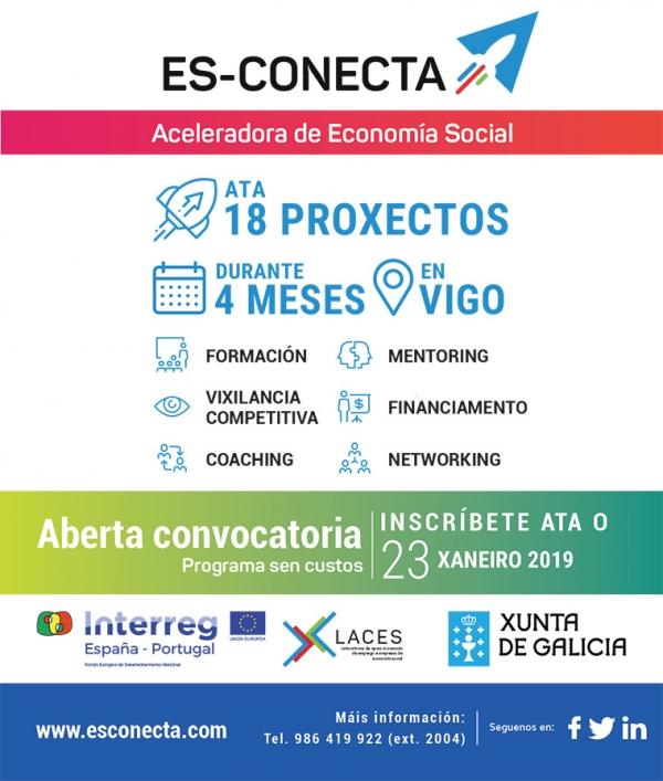 ES-CONECTA. Aceleradora de economía social