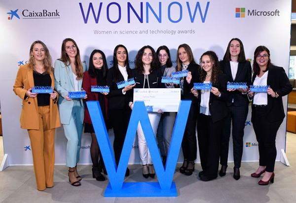 Premio a alumnas: WONNOW 2020