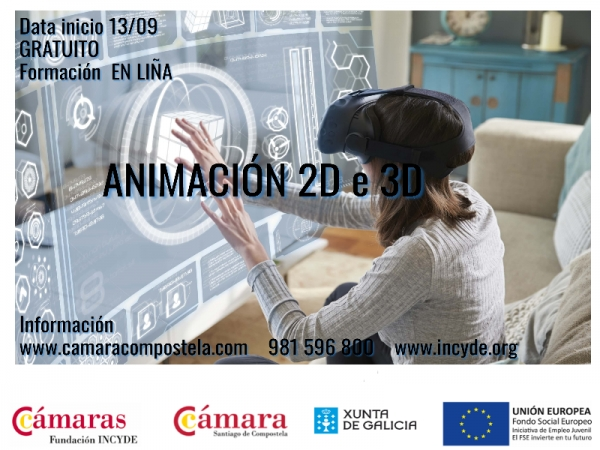 Animación 2D e 3D
