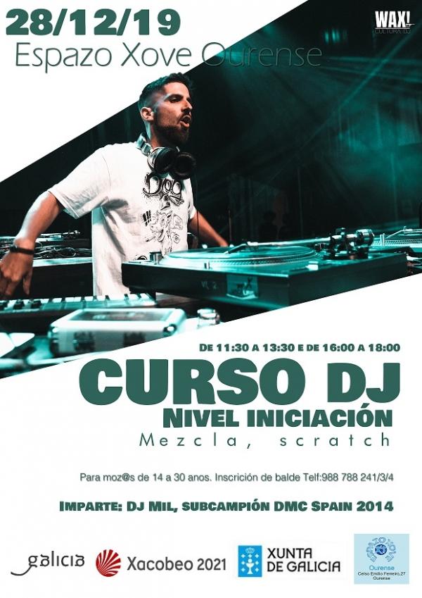 Curso de DJ en Ourense