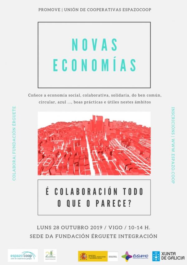 Xornada «Novas Economías: é colaboración todo o que o parece?»