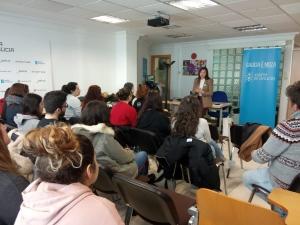 Xuventude destaca a implicación dos correspondentes xuvenís do IES Rosalía de Castro de Santiago