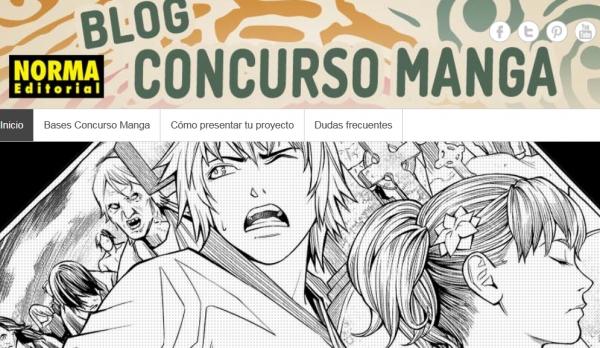 Concurso de cómic manga, Norma Editorial