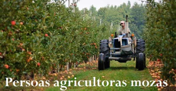 Axudas ás persoas agricultoras mozas